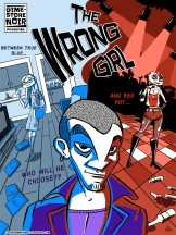 """Cover for my comic """"The Wrong Girl"""""""