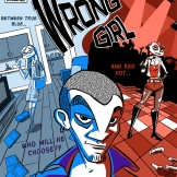 "Cover for my comic ""The Wrong Girl"""