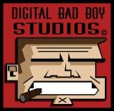 A logo designed for the game company Digital Bad Boy Studios.