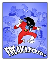 Freakazoid illustration