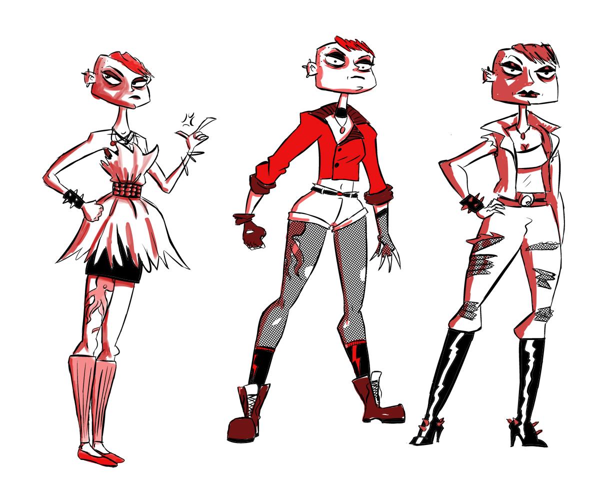Character Design For Comics : Character design joshua daniel