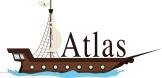 A logo designed for Atlas Gameworks.