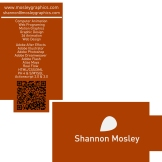 card designed for Mosley Graphics.