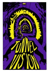 """Cover for my comic """"Tunnel Vision"""""""