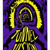 "Cover for my comic ""Tunnel Vision"""