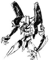Eva 01 from Evangelion