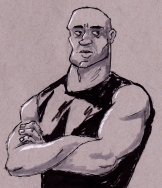 """Dominic Toretto from """"The Fast and the Furious"""""""