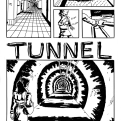 "Page 1 of ""Tunnel Vision"" for Dime-Store Noir"